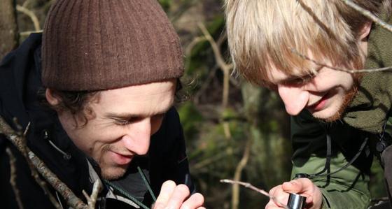 Dyfi Biosphere Community Woodland group - Biodiversity survey