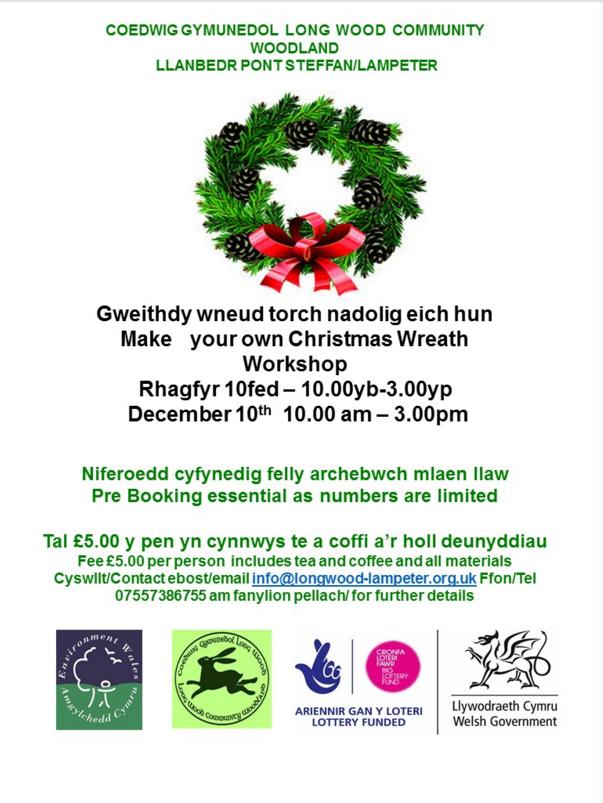 Longwood wreath making